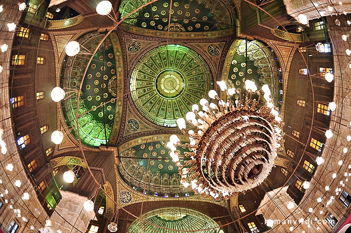 The Dome of the Sultan Ali Mosque